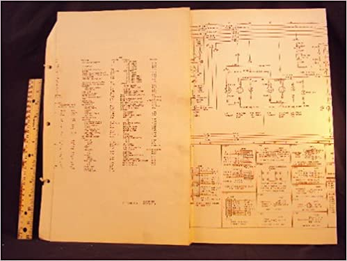1974 74 ford pinto electrical wiring diagrams manual ~original: ford motor  company: amazon com: books