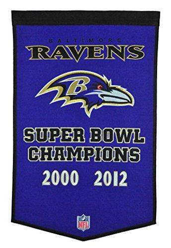 - Winning Streak NFL Baltimore Ravens Dynasty Banner