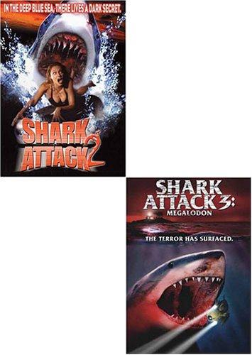 Shark Attack 2/Shark Attack 3: Megalodon (2 pack)