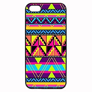 COOL NEON AZTEC Pattern Image Protective iphone 6 plus 5.5 / iPhone 5 Case Cover Hard Plastic Case For iPhone 6 plus 5.5