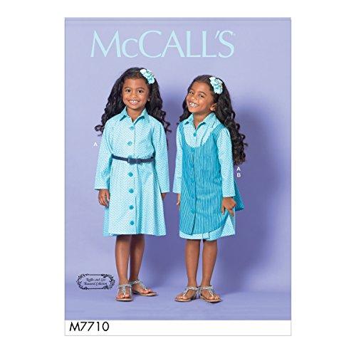 - McCall Patterns M7710CDD Children/Girls' Dress and Pinafore