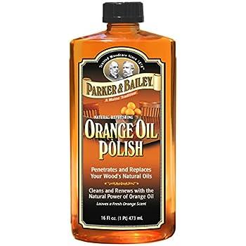 Amazon Com Parker Amp Bailey Orange Oil 16oz Home Amp Kitchen