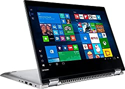 "Lenovo Premium Flagship 14"" Touchscreen Laptop Computer, Intel Pentium 4415U CPU 2.3GHz, 4GB DDR4 RAM, 256GB SSD, 802.11ac Wi-Fi, Bluetooth, USB 3.0, HDMI, Windows 10"