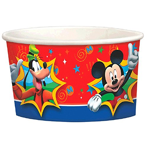 Mickey Mouse Ice Cream - Mickey Mouse 'Fun and Friends' Ice Cream Cups (8ct)