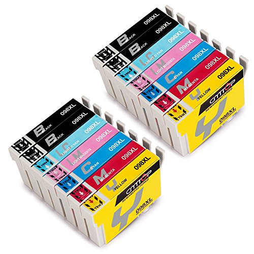 CMTOP Remanufactured 98 98XL Ink Cartridges High Yield, Work for Compatibility - Artisan 730 835 725 710 700 837 810 800 Printer … by CMTOP