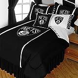 NBA Brooklyn Nets Queen Comforter Set Basketball Bedding