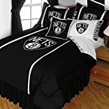 NBA Brooklyn Nets Full Bedding Set Basketball Logo Bed