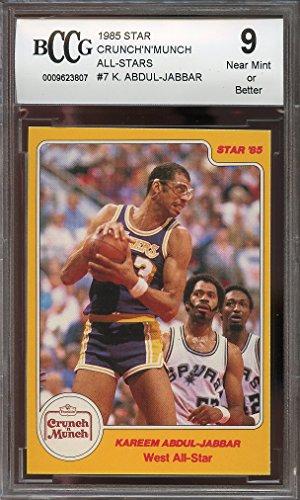 1985-star-crunch-n-munch-all-stars-7-kareem-abdul-jabbar-lakers-bgs-bccg-9-graded-card