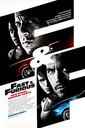 Posters USA Fast and Furious Movie Poster GLOSSY FINISH - FI