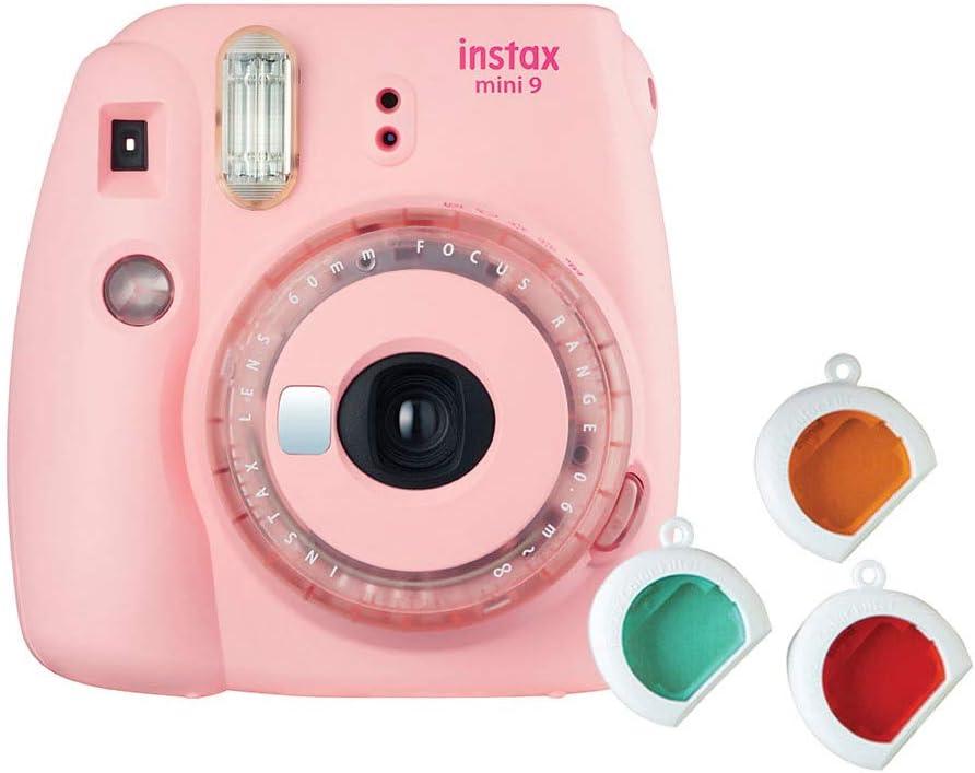 Instax Sofort Kamera Mini 9 Clear Rosa Kamera