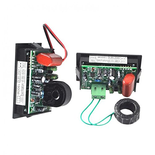 Red and Green Digits LED Dual Display AC 100A Voltmeter Meter Split Type -Ez2Shop