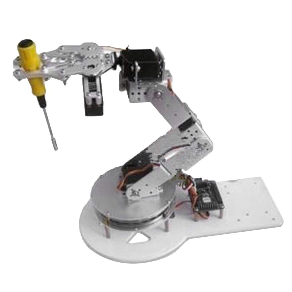 salida de fábrica Homyl Brazo Robótico Robótico Robótico Robot 6-DOF Chasis Arduino Plataforma Enseñanza Experimental Juguetes y Juegos Marioneta  forma única