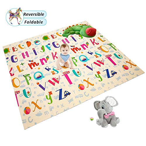 Reversible Waterproof 70 8x78x0 4in Educational ABC Animal World product image