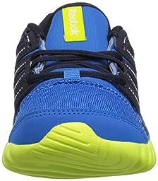 Reebok Twistform Running Shoe (Little Kid/Big Kid), Cycle Blue/Faux Indigo/Semi Solar Yellow, 11 M US Little Kid