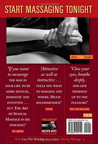 The Art of Sensual Massage Book and DVD Set: 40th Anniversary Edition - incensecentral.us