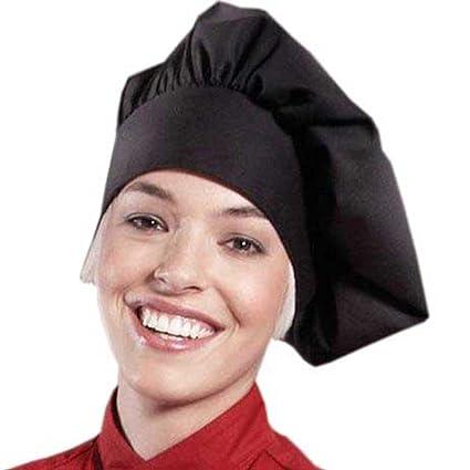 3bd8d4bce91 ChefsCloset Poplin Chef Hat by  (Black ) Christmas gift ideas 2018