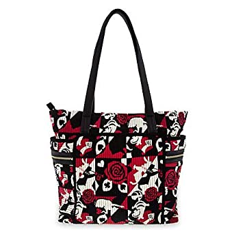 fa79d8d05a Vera Bradley Disney Parks Tote Alice In Wonderland Painting The Roses