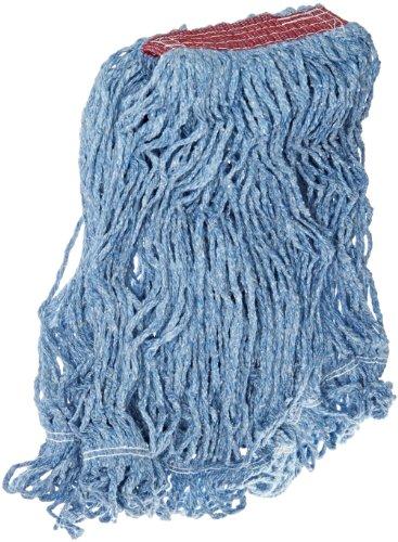 Stitch Bucket (Rubbermaid Commercial Super Stitch Blend Mop, 1-Inch Headband, Blue, FGD21306BL00)