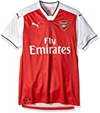PUMA Men's Arsenal FC Home Replica Shirt, High Risk Red/White, Medium