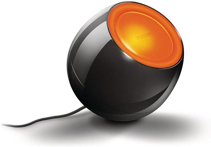 Philips Lighting Livingcolors Mini Lampada Da Tavolo A Luce Colorata In Materiale Sintetico Nero Amazon It Illuminazione