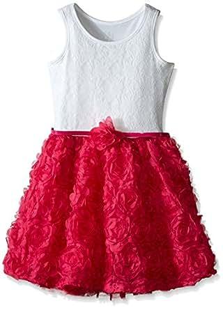 The Children's Place Girls' 3D Tutu Dress, Watermelon, 4
