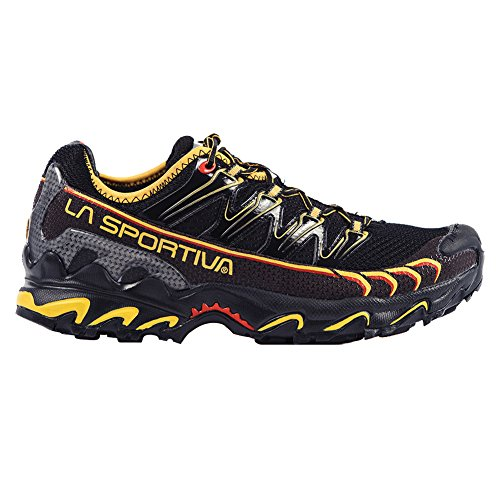 La Sportiva Men s Ultra Raptor Trail Running Shoe,Black Yellow,45 EU 11.5 M US