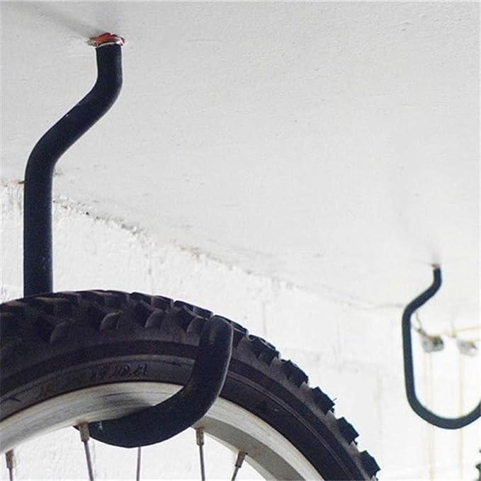 MZY1188 2pcs Ganchos para Bicicleta Soportes para Bicicleta Soportes para Soporte para Bicicleta para Almacenamiento en Interiores Soporte para Montaje en Pared para Bicicleta
