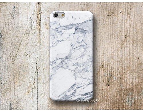 blanc marbre Coque Étui Phone Case pour Samsung Galaxy S9 S8 Plus S7 S6 Edge S5 S4 mini A3 A5 J3 J5 J7 Note 4 5 8 Core Grand Prime