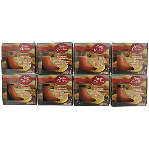 Betty Crocker Scented Candle 8 Pack of 3oz Jars - Pumpkin Pie Sugar Cookies