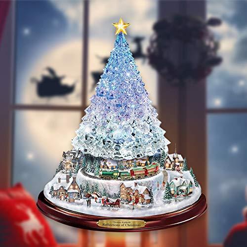 clacce Weihnachten Selbstklebend,Weihnachten Fenstersticker Winter Deko Weihnachtsdeko, Fensterbilder Weihnachten Wiederverwendbar