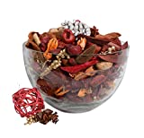 Potpourri Cinnamon Spice Scented Bowl and Vase