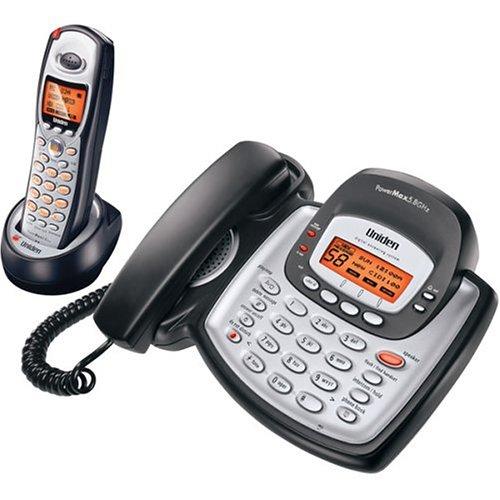 Uniden TRU8888 5.8 GHz Digital Expandable Cordless Phone wit