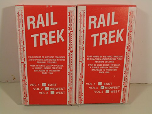 Rail Trek VHS Volumes 1 and 2 (East and Midwest) Historic Trackside