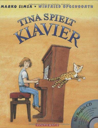 Tina spielt Klavier