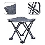 Outdoor Camping Stool for Fishing Travel Hiking Lightweight Sturdy Portable Stools with Carry Bag Bearing 220 lbs For Sale