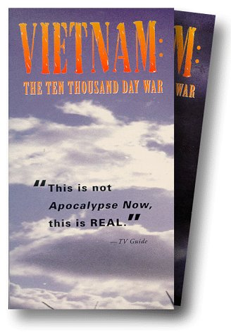 Vietnam the Ten Thousand Day War 6 Mini-SeriesVHS