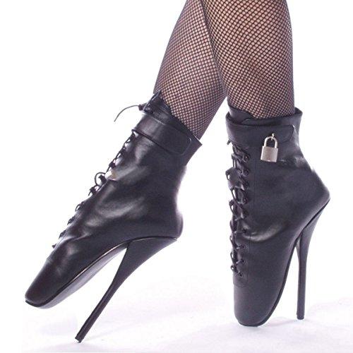 Devious - Bailarinas de piel para mujer negro Schwarz