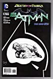 img - for Batman #15 Death of the Family 1-in-100 Black & White Sketch Variant Cover Edition book / textbook / text book