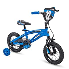The first ride is always so special! Especially on the 12-inch Moto X bike, only from Huffy and only at Amazon! Ultra cool graphics decorate much of the bike and showcase its first place attitude. Ideal for ages 3-5 and a rider height of 37-4...