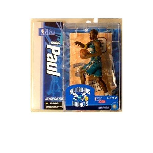 Chris Game Paul (McFarlane Toys NBA Sports Picks Series 12 Action Figure Chris Paul (New Orleans Hornets) Teal Uniform)