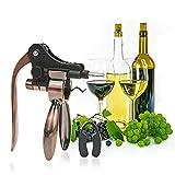 Gala Kit Wine Opener - Rabbit Corkscrew Copper Set Plus Foil...