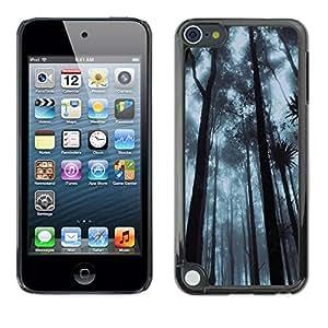 "For Apple iPod Touch 5 , S-type Planta Naturaleza Forrest Flor 92"" - Arte & diseño plástico duro Fundas Cover Cubre Hard Case Cover"