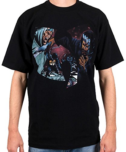 d Swords Tee Black T Shirt T-Shirt Wu-Tang Clan ()