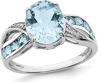 Details about  /Natural Swiss Blue Topaz Ring High Quality stone 925 Solid Silver Yellow Gold
