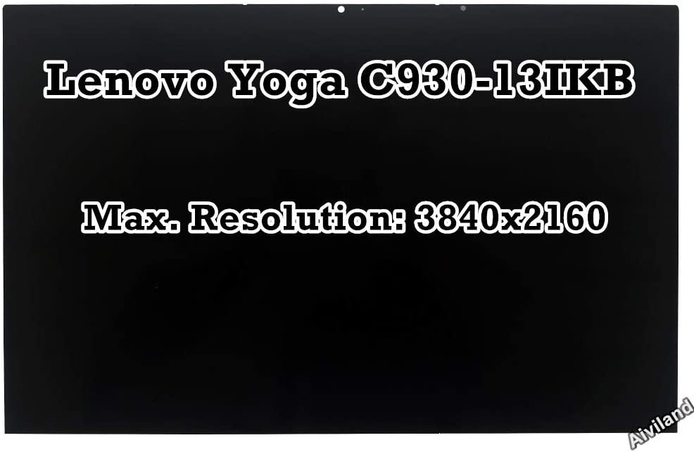 "Replacement 13.9"" 4K LCD Panel 3840x2160 IPS Display Touch Screen Digitizer with Touch Control Board Assembly for Lenovo Yoga C930-13IKB 81C4006XUS"
