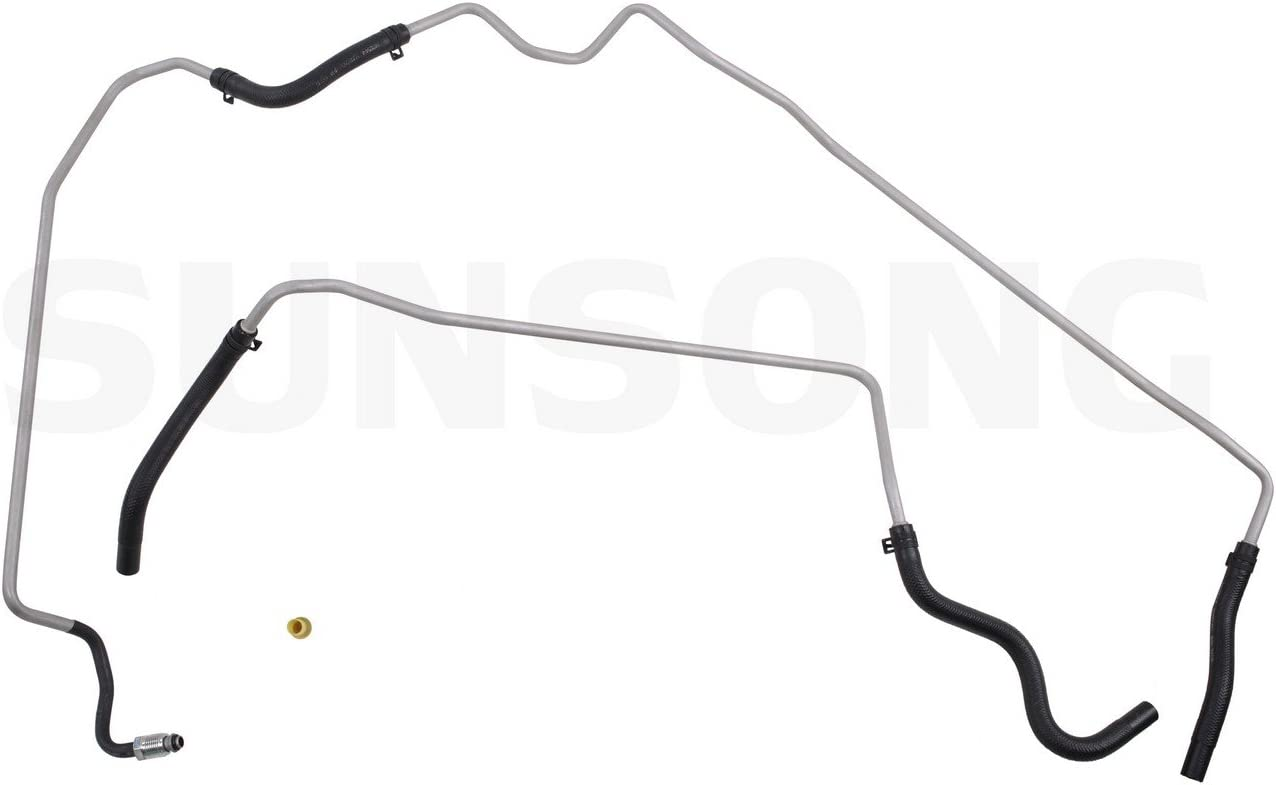 Power Steering Return Line Hose Assembly Sunsong North America 3403017