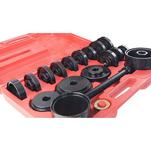 PMD Products 23pc Front Wheel Bearing Remove Replace Install Service Tool Kit Set FWD Removal Installation by PMD Products (Image #1)'