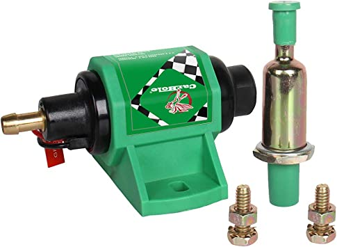 Top 4-7 PSI Micro Electric Fuel Pump For Use w//Carburetor 35 GPH 12V US Stock