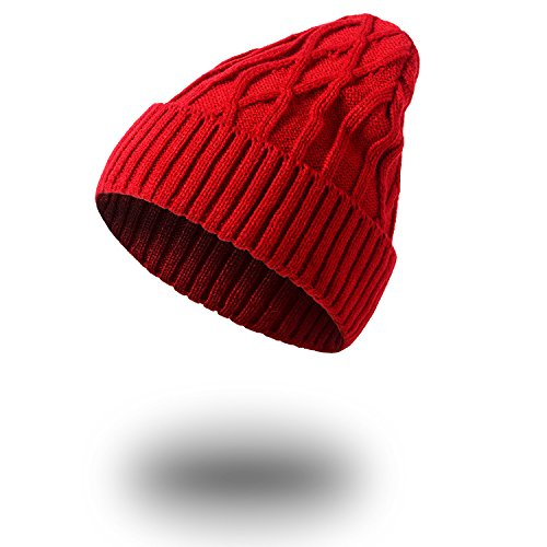 Men caqui Invierno caliente sombreros sombreros tejidos sombreros Señoras sombreros Halloween beanie Navidad tejidos MASTER Red qSZHFZ