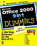 Microsoft® Office 2000 9 in 1 for Dummies® Desk Reference, Greg Harvey, 0764503332